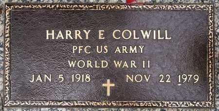 COLWILL, HARRY E (WWII) - Minnehaha County, South Dakota   HARRY E (WWII) COLWILL - South Dakota Gravestone Photos