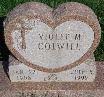 COLWILL, VIOLET M. - Minnehaha County, South Dakota | VIOLET M. COLWILL - South Dakota Gravestone Photos
