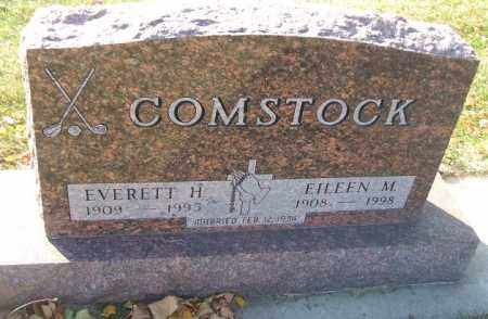 COMSTOCK, EVERETT H. - Minnehaha County, South Dakota | EVERETT H. COMSTOCK - South Dakota Gravestone Photos