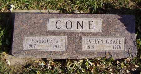 CONE, MAURICE J. - Minnehaha County, South Dakota | MAURICE J. CONE - South Dakota Gravestone Photos