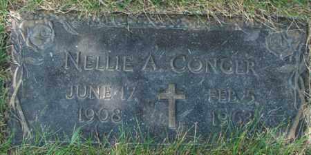 CONGER, NELLIE A. - Minnehaha County, South Dakota | NELLIE A. CONGER - South Dakota Gravestone Photos
