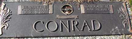 CONRAD, MARJORIE M. - Minnehaha County, South Dakota   MARJORIE M. CONRAD - South Dakota Gravestone Photos