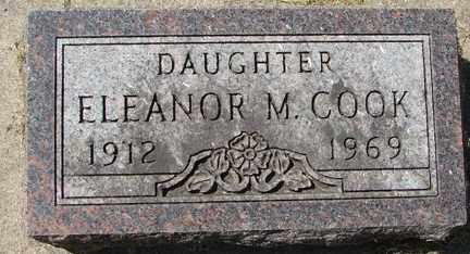 COOK, ELEANOR M. - Minnehaha County, South Dakota | ELEANOR M. COOK - South Dakota Gravestone Photos