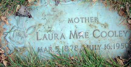COOLEY, LAURA MAE - Minnehaha County, South Dakota | LAURA MAE COOLEY - South Dakota Gravestone Photos
