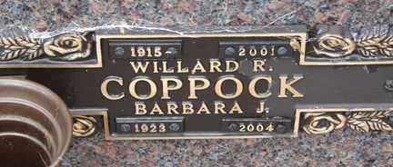 COPPOCK, BARBARA J. - Minnehaha County, South Dakota | BARBARA J. COPPOCK - South Dakota Gravestone Photos