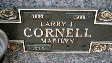 CORNELL, MARILYN - Minnehaha County, South Dakota | MARILYN CORNELL - South Dakota Gravestone Photos
