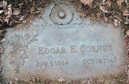 CORNUE, EDGAR E. - Minnehaha County, South Dakota | EDGAR E. CORNUE - South Dakota Gravestone Photos