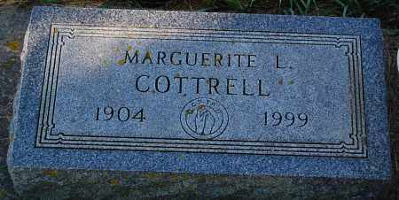 COTTRELL, MARGUERITE L. - Minnehaha County, South Dakota | MARGUERITE L. COTTRELL - South Dakota Gravestone Photos
