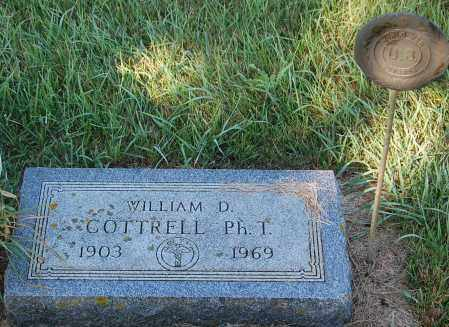 COTTRELL, WILLIAM D. - Minnehaha County, South Dakota | WILLIAM D. COTTRELL - South Dakota Gravestone Photos