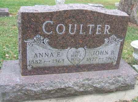 COULTER, JOHN B. - Minnehaha County, South Dakota   JOHN B. COULTER - South Dakota Gravestone Photos