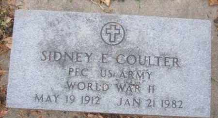 COULTER, SIDNEY (WWII) - Minnehaha County, South Dakota | SIDNEY (WWII) COULTER - South Dakota Gravestone Photos