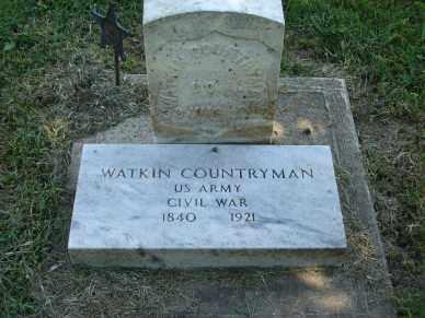 COUNTRYMAN, WATKIN - Minnehaha County, South Dakota | WATKIN COUNTRYMAN - South Dakota Gravestone Photos
