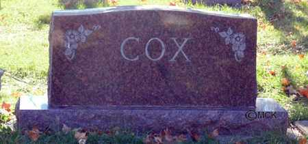COX, HEADSTONE - Minnehaha County, South Dakota | HEADSTONE COX - South Dakota Gravestone Photos