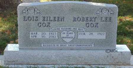 COX, ROBERT LEE - Minnehaha County, South Dakota | ROBERT LEE COX - South Dakota Gravestone Photos