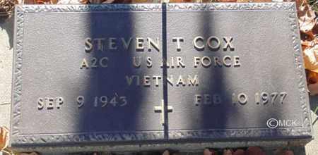 COX, STEVEN T. - Minnehaha County, South Dakota | STEVEN T. COX - South Dakota Gravestone Photos