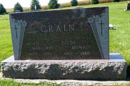 CRAIN, HELEN MARGARET - Minnehaha County, South Dakota | HELEN MARGARET CRAIN - South Dakota Gravestone Photos