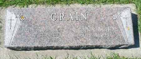 CRAIN, DONNA BUDDE - Minnehaha County, South Dakota | DONNA BUDDE CRAIN - South Dakota Gravestone Photos