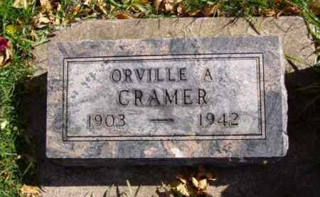 CRAMER, ORVILLE A. - Minnehaha County, South Dakota | ORVILLE A. CRAMER - South Dakota Gravestone Photos