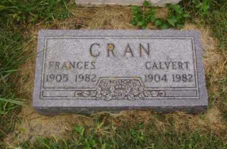 CRAN, FRANCES - Minnehaha County, South Dakota | FRANCES CRAN - South Dakota Gravestone Photos