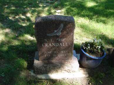 CRANDALL, NORRIS L. - Minnehaha County, South Dakota | NORRIS L. CRANDALL - South Dakota Gravestone Photos