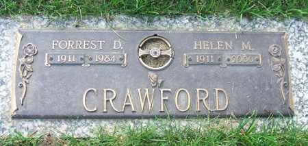 CRAWFORD, FORREST D. - Minnehaha County, South Dakota | FORREST D. CRAWFORD - South Dakota Gravestone Photos