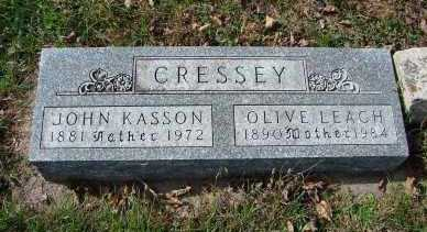 CRESSEY, JOHN KASSON - Minnehaha County, South Dakota | JOHN KASSON CRESSEY - South Dakota Gravestone Photos