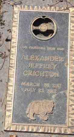 CRICHTON, ALEXANDER JEFFREY - Minnehaha County, South Dakota | ALEXANDER JEFFREY CRICHTON - South Dakota Gravestone Photos