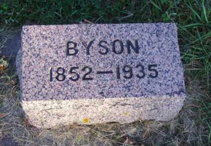 CRISP, BYSON - Minnehaha County, South Dakota | BYSON CRISP - South Dakota Gravestone Photos