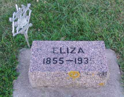CRISP, ELIZA - Minnehaha County, South Dakota | ELIZA CRISP - South Dakota Gravestone Photos