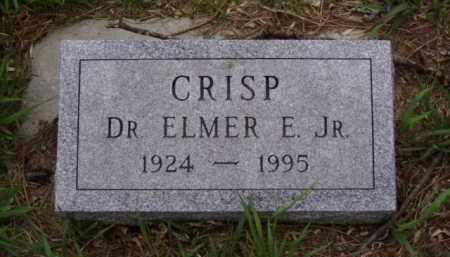 CRISP, ELMER E. - Minnehaha County, South Dakota | ELMER E. CRISP - South Dakota Gravestone Photos