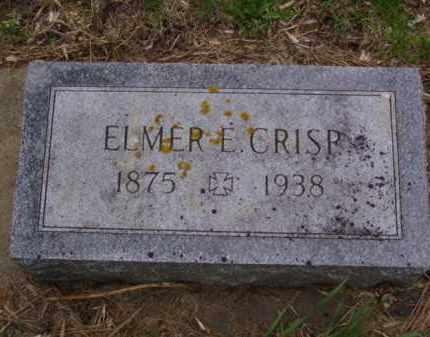 CRISP, ELMER EARNEST - Minnehaha County, South Dakota | ELMER EARNEST CRISP - South Dakota Gravestone Photos