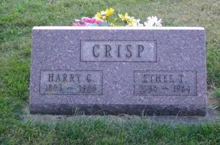 CRISP, HARRY C. - Minnehaha County, South Dakota | HARRY C. CRISP - South Dakota Gravestone Photos