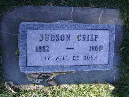 CRISP, JUDSON - Minnehaha County, South Dakota | JUDSON CRISP - South Dakota Gravestone Photos