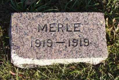CRISP, MERLE - Minnehaha County, South Dakota | MERLE CRISP - South Dakota Gravestone Photos