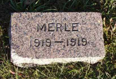 CRISP, MERLE - Minnehaha County, South Dakota | MERLE CRISP - South Dakota Gravestone Photos