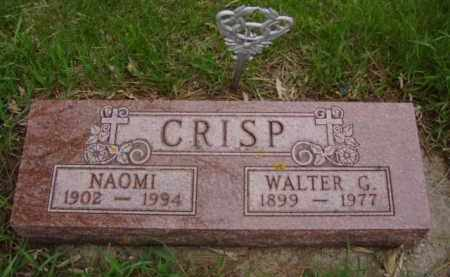 CRISP, WALTER GEORGE - Minnehaha County, South Dakota | WALTER GEORGE CRISP - South Dakota Gravestone Photos