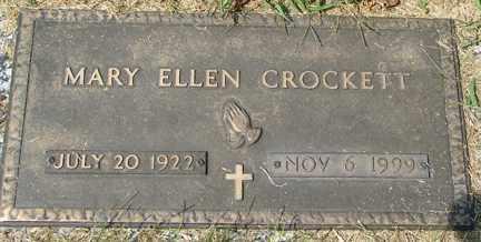 CROCKETT, MARY ELLEN - Minnehaha County, South Dakota   MARY ELLEN CROCKETT - South Dakota Gravestone Photos