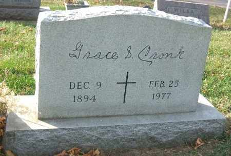 CRONK, GRACE S. - Minnehaha County, South Dakota | GRACE S. CRONK - South Dakota Gravestone Photos