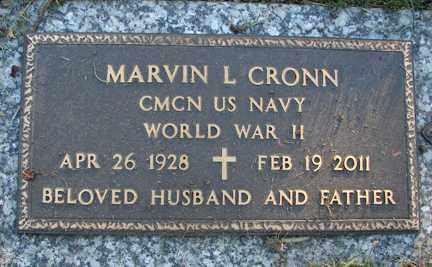 CRONN, MARVIN I. - Minnehaha County, South Dakota | MARVIN I. CRONN - South Dakota Gravestone Photos