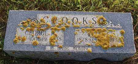CROOKS, GEORGE A. - Minnehaha County, South Dakota | GEORGE A. CROOKS - South Dakota Gravestone Photos