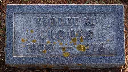 CROOKS, VIOLET M. - Minnehaha County, South Dakota | VIOLET M. CROOKS - South Dakota Gravestone Photos