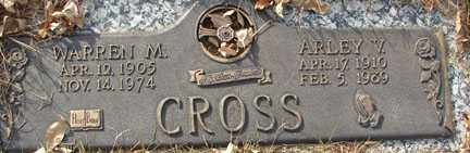CROSS, WARREN M. - Minnehaha County, South Dakota | WARREN M. CROSS - South Dakota Gravestone Photos
