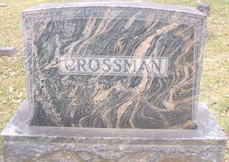 CROSSMAN, FAMILY STONE - Minnehaha County, South Dakota | FAMILY STONE CROSSMAN - South Dakota Gravestone Photos