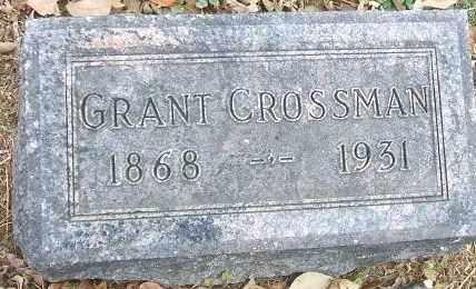 CROSSMAN, GRANT - Minnehaha County, South Dakota | GRANT CROSSMAN - South Dakota Gravestone Photos