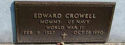 CROWELL, EDWARD - Minnehaha County, South Dakota   EDWARD CROWELL - South Dakota Gravestone Photos
