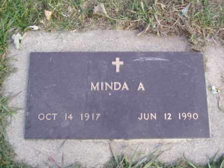 CROWELL, MINDA A. - Minnehaha County, South Dakota   MINDA A. CROWELL - South Dakota Gravestone Photos
