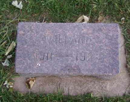 CROWELL, WILLARD - Minnehaha County, South Dakota | WILLARD CROWELL - South Dakota Gravestone Photos