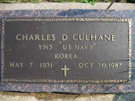 CULHANE, CHARLES D. (KOREA) - Minnehaha County, South Dakota | CHARLES D. (KOREA) CULHANE - South Dakota Gravestone Photos