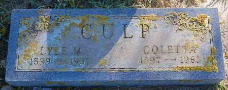 CULP, COLETTA - Minnehaha County, South Dakota | COLETTA CULP - South Dakota Gravestone Photos