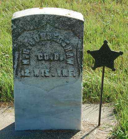 CUMBERSHAW, NICHOLAS B. - Minnehaha County, South Dakota | NICHOLAS B. CUMBERSHAW - South Dakota Gravestone Photos